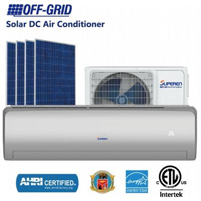 12000BTU DC48V Solar Dc Air Conditioner And Solar Powered Split Air Conditioner Solar Cooling