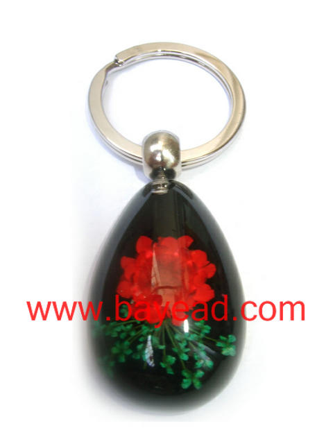 real natural flower keychains,key ring,so cute gift