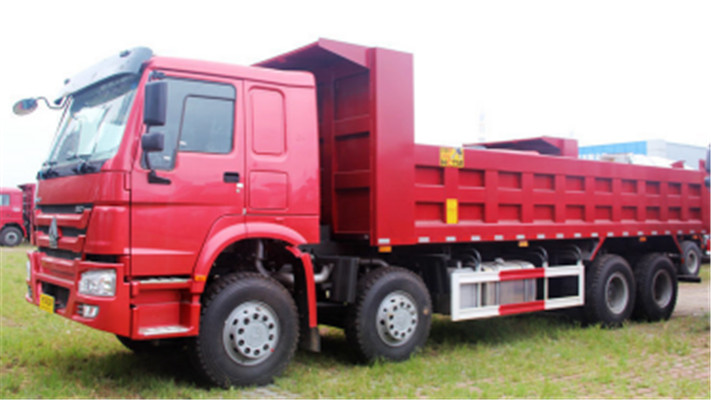 Strong carrying capacity HOWO 8X4 ZZ3407S3847D Dump Truck supplier