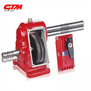 GTM agricultural ratio 1:4 pesticide sprayer gearbox