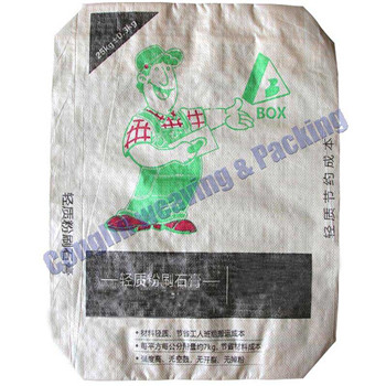 high quality PP block bottom valve bag with lower price