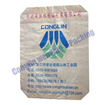 China PP plastic woven cement bag/sack export