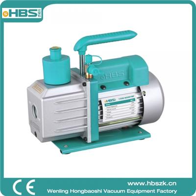 HBS 8/9CFM, 5Pa, 3/4HP Single-Stage Rotary Vane Hand Held Economy High Vacuum Pump Manufacturers Air Conditioner Refrigerant Recovery,HVAC/AUTO AC tool R134a R410a Wine Degassing,Vacuum Pump for Milki