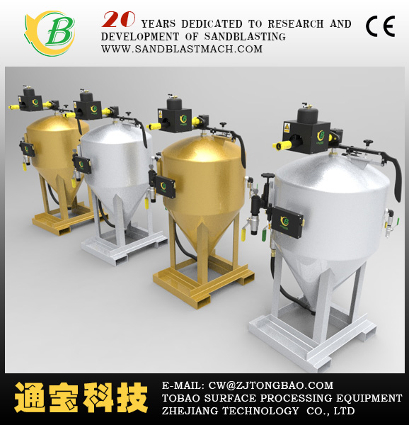 Dustless Blasting Wet Blasters/portable sandblaster machine