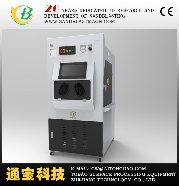 Wet Sandblasting carbinet/glass bead blasting machine