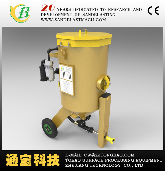 Portable sandblaster/portable shot blasting machine