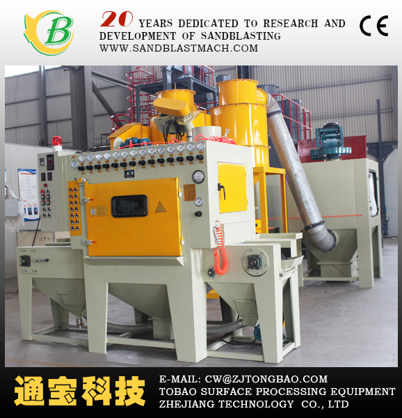 Conveyor sand blasting machine/Conveyor Blast Cleaning Machines