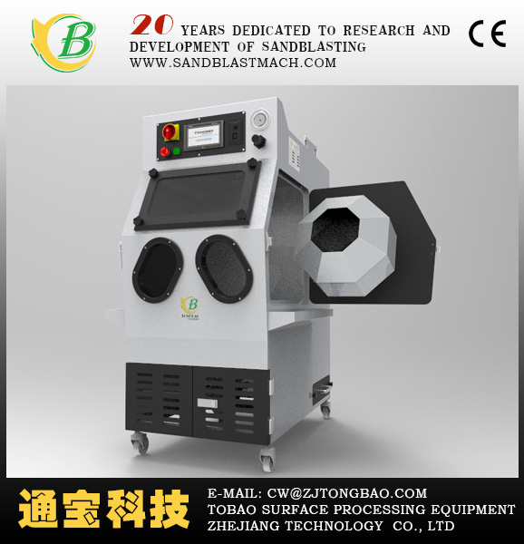 Rotary drum blasting machine/automatic sandblasting machine