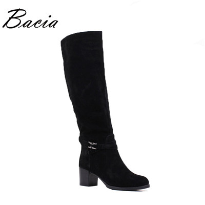 Winter wool fur  boots For Women Genuine Sheep Suede Boots