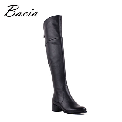 Sheepskin Shoes Soft Genuine Leather Boots Over knee boot
