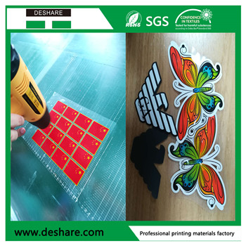 Heat transfer waterbase rubber ink for label printing