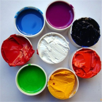 China suppliers most popular coloring Silicone Pigment for screen printing