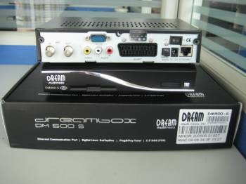 Dreambox 800 S 800HD Dreambox Dm800 S DVB-S2 receiver