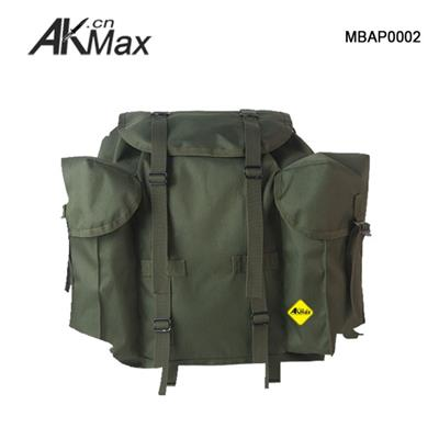 France Military Backpack ALICE Pack External X Frame Olive Green