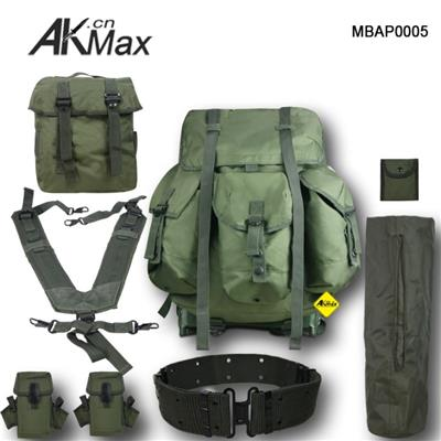 U.S Military Backpack ALICE Field Pack Midieum Size Olive Drab