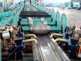 China Bottom plate of stereo garage roll forming machine supplier/production line