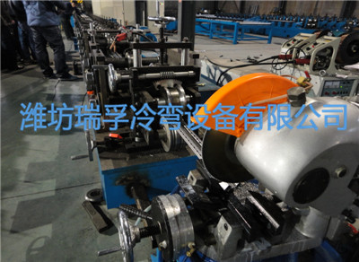 China Electrical cabinet roll forming machine supplier/production line