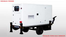 220v water-cooled portable gas electric power generator set for sale