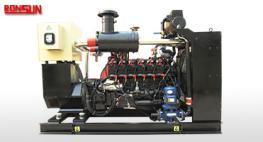 10KW-50KW biogas engine powered electric generator set price list