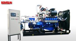 100KW-500KW biogas powered electric generator set with steyr engine