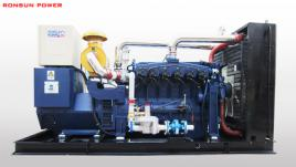 50KW-100KW new energy type biogas generator set for sale with steyr engine