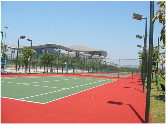 Acrylic Acid  Wear Resistant Basketball Sport Court Flooring
