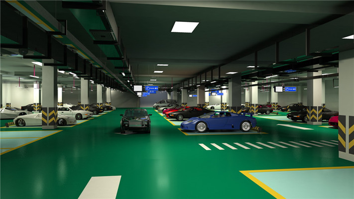 Wear-Resistant Parking Garage Flooring With High Quality of Impact Resistance and Pressure Resistance