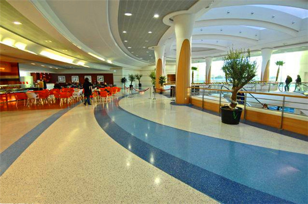 Epoxy Anti Bacterial Terrazzo Flooring for Hospital and Hotel Lobby