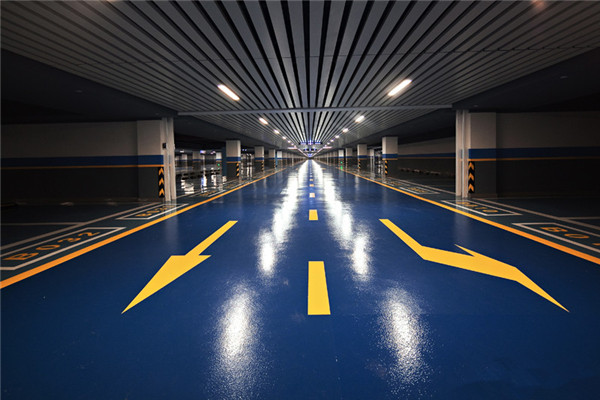 Anti Corrosion anti-slip Paint Parking Lot Flooring for basketball