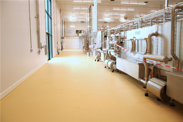 Antimicrobial Flooring for Food and Beverage/ Brewery/Pharmaceutical/Healthcare facilities