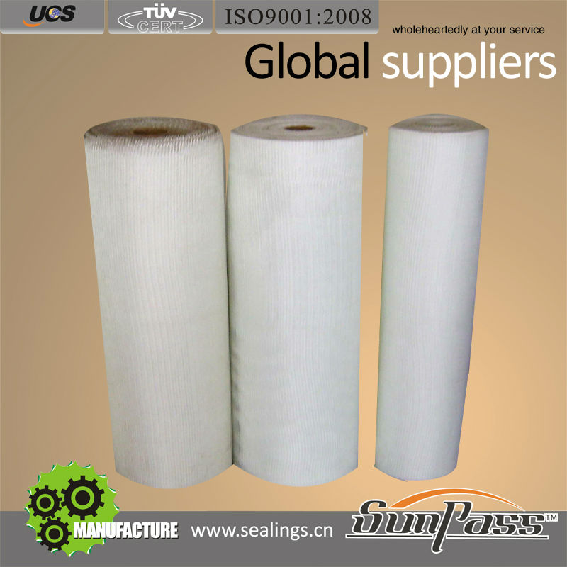Gas Station Fiber Glass Fabric Fireproof Fiberglass Cloth