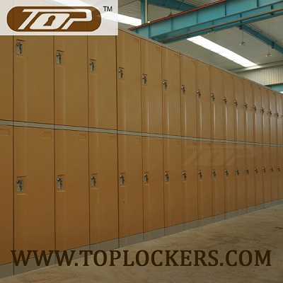Double Tier ABS Plastic Cabinets, Yellow Color