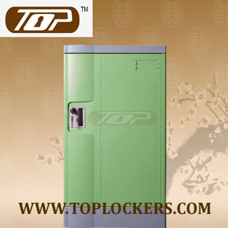 Triple Tier Factory Lockers ABS Plastic, Green Color