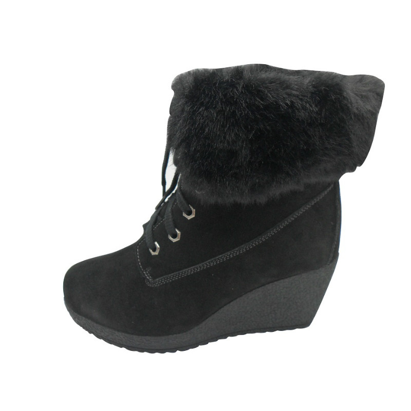 fashionable lady boots with waterproof suede(GILDA,BRAND:CARE)
