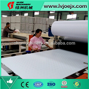 Building Material of PVC Ceiling Designes / PVC Wall Panel PVC lamination making machinery