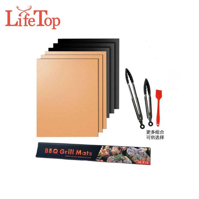 OEM Custom Set of 3 non-stick BBQ mat