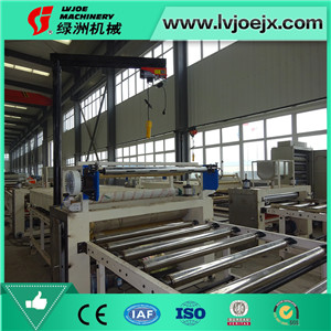Gypsum Board/Sheetrock/Plasterboard Lamination Machine to make Ceiling Tile