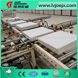 Low-invest Moisture proof PVC laminated ceiling tile machine