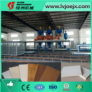 Full-automatic glass magnesium production line fiber cement board all-in-one machine