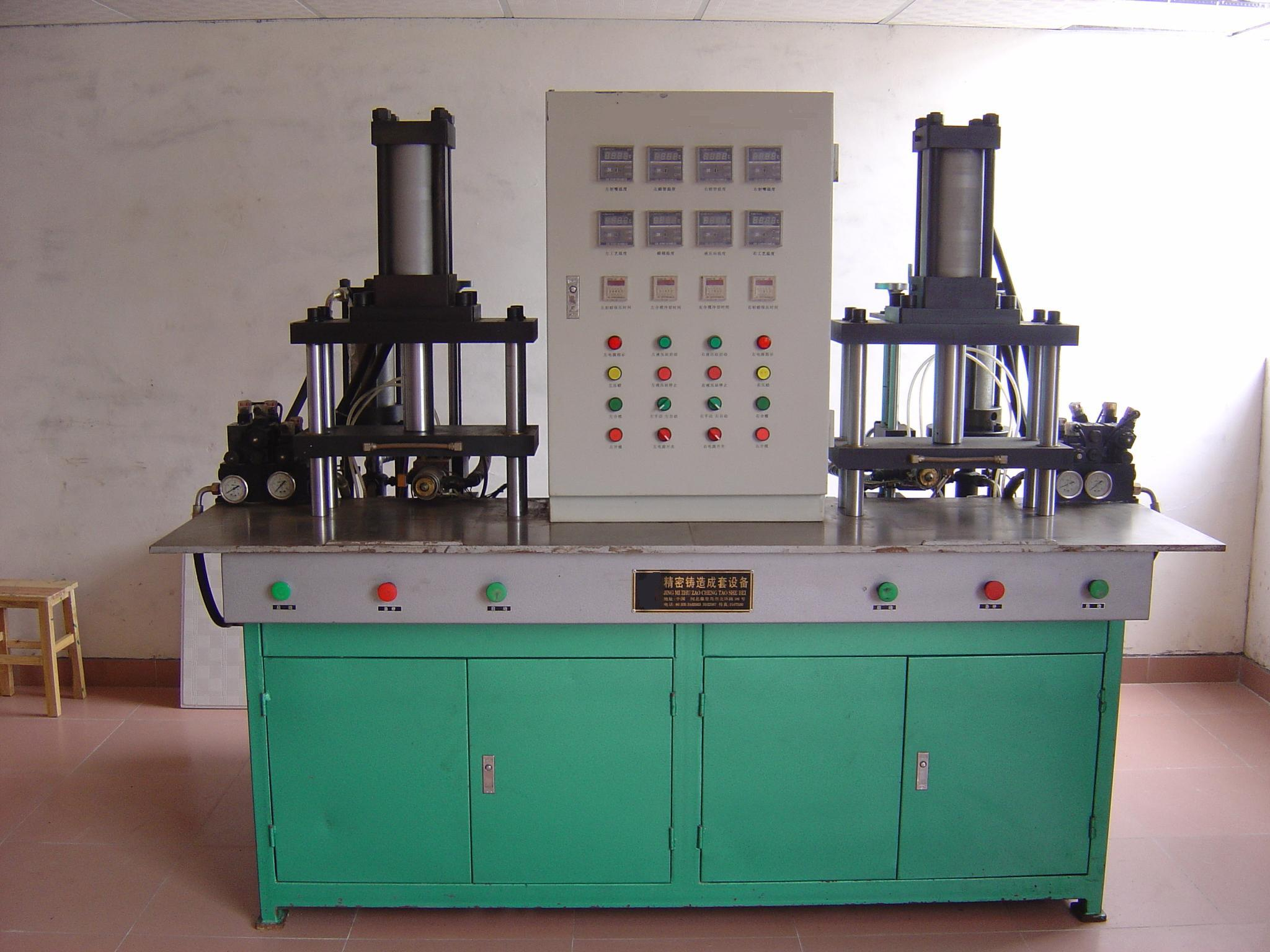 Wax Injection Machine with Double Station