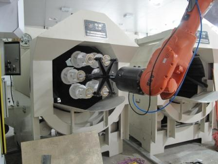 Robotic Shell Production System