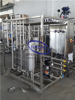 Pasteurizer for juice and Dairy applications JIANYI Machinery