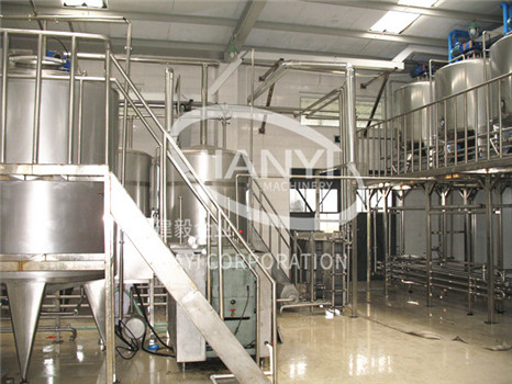 Industrial yogurt making machine JIANYI Machinery