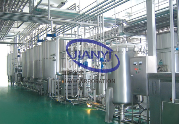 Carbonated soft drinks production line CSD production line JIANYI Machinery