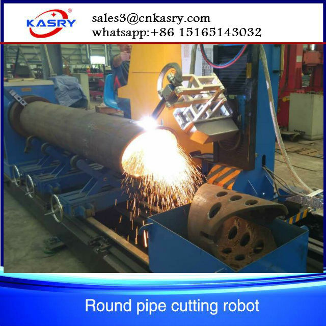 cnc pipe cutting machine plasma cutting
