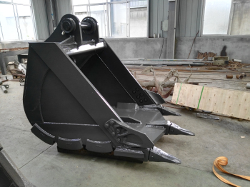 excavator strong digging rock ripper bucket