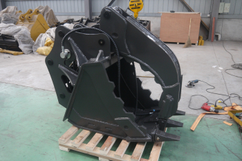 excavavtor hydraulic thumb bucket for stone