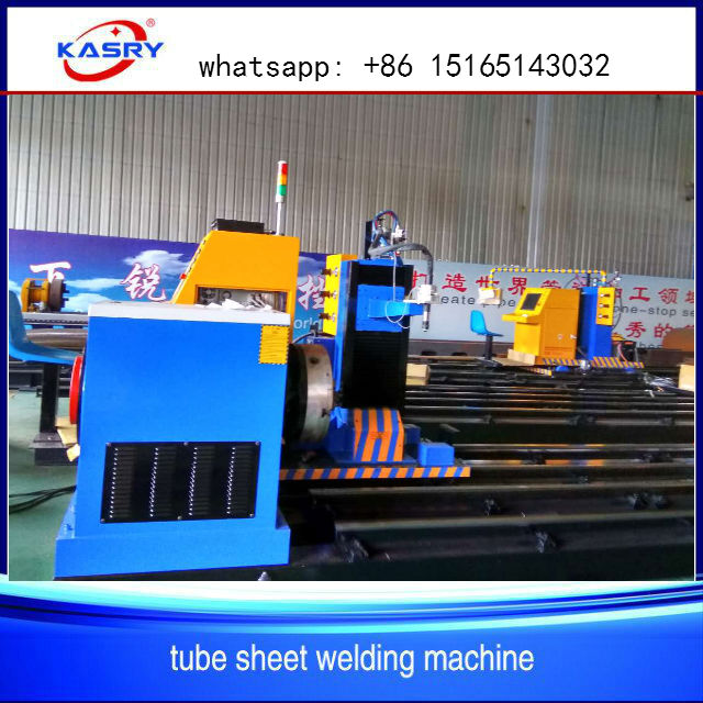 cnc oxyfuel plasma pipe cutting machine