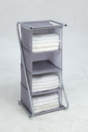 Non-woven Free standing cubby wardrobe and chest manufacturer
