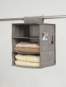 3 shelf  Printing accessory hang bag and hanging garment organizer